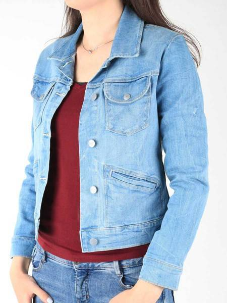 Jeans Jacket Wrangler Kingfisher W433JJ45R