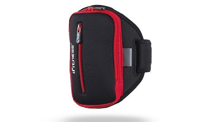 IFIT-0123 iFitness Porkowiec Na Ramię ARM01 BLK/RED L/XL