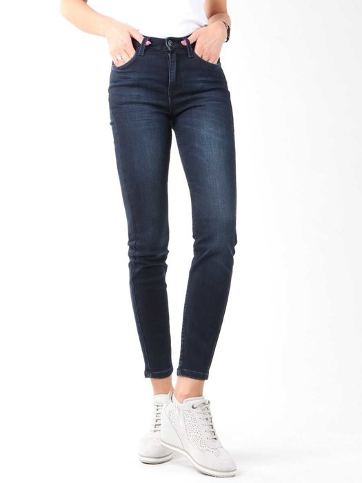 Lee Scarlett High Crop Skinny Cropped L32BAIFA