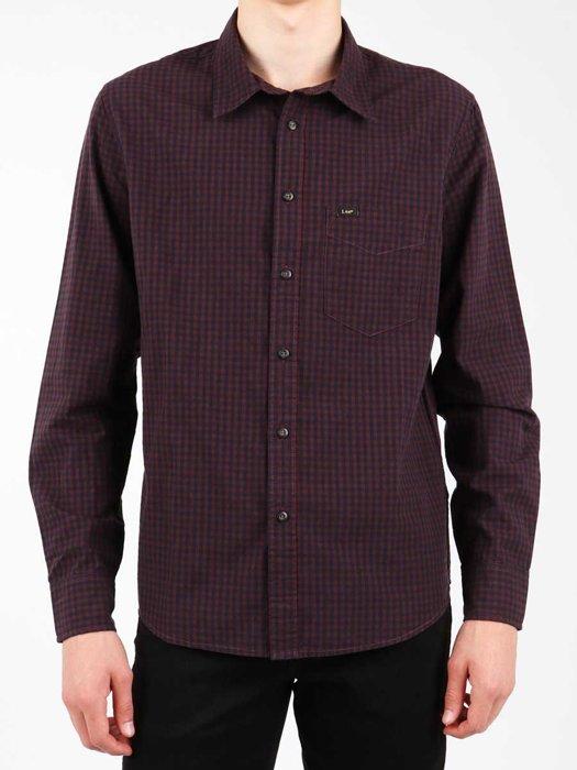 Lee Shirt Plum L876CJRS
