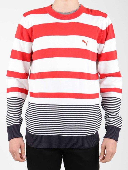 Puma Striped Sailing Sweater 554124-01
