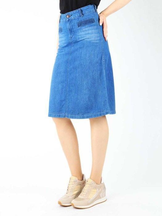 Skirt Wrangler Chalky Peacock W203GM731