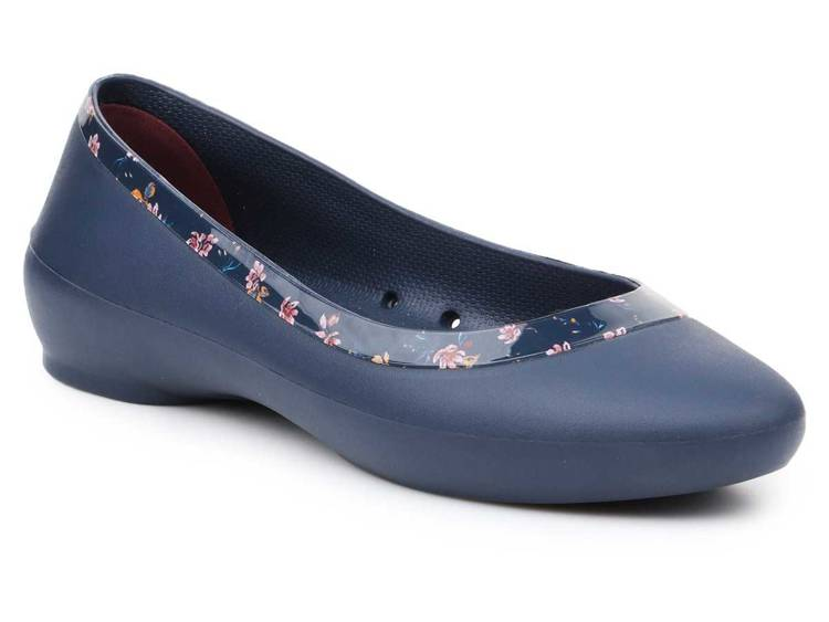 Crocs lina shiny graphic flat 204855-4HJ