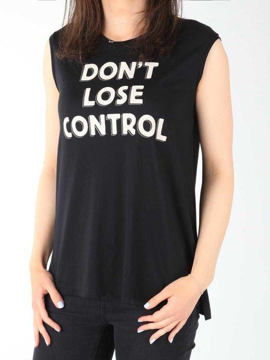Damen T-Shirt Lee Muscle Tank Black L42CPB01