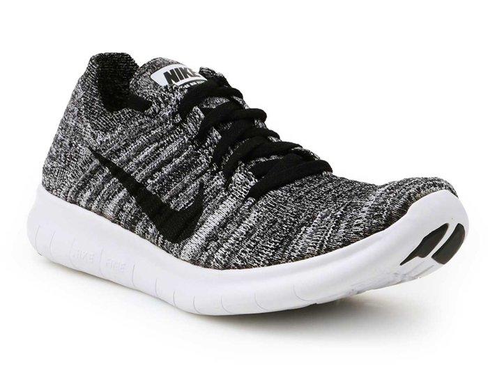 Laufschuhe Nike Free RN Flyknit (GS) 834362-100