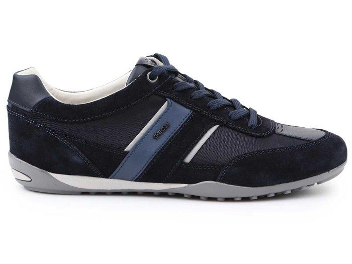 Lifestyle Schuhe Geox U Wells C Suede Textile U52T5C-02211-C4021