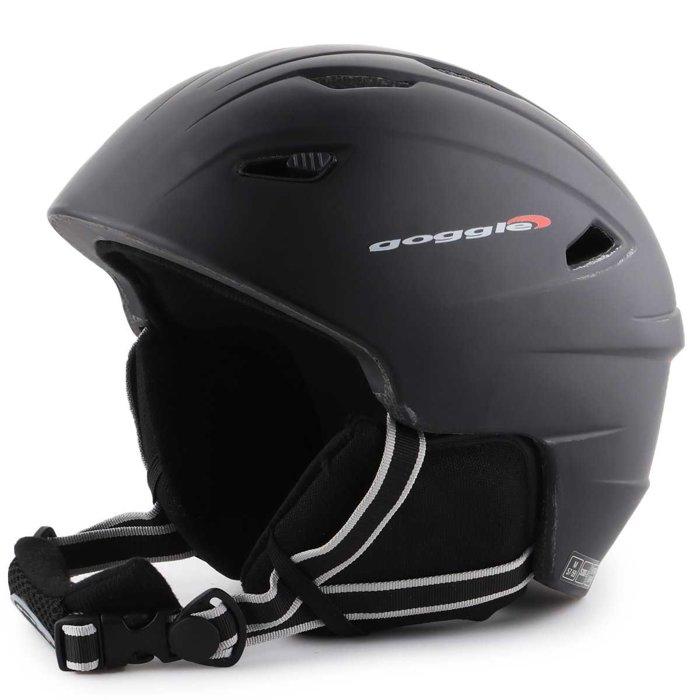 Skihelm Goggle Black Matt S300-2