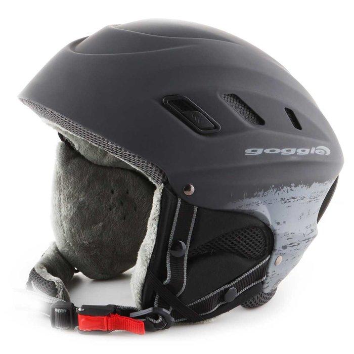 Skihelm Goggle Dark Grey Matt S200-4