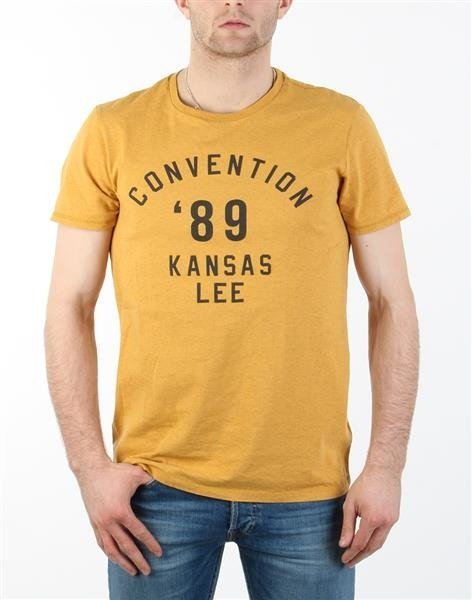 "T-Shirt Męski Lee Convention Tee ""Safron"""