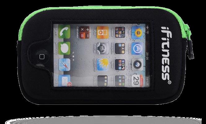 iFitness Kieszeń Na iPhona OA ADP03 BLK/GREEN IFIT-0200
