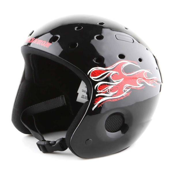 Kask narciarski Salomon Zoom JR Black 890-445-58