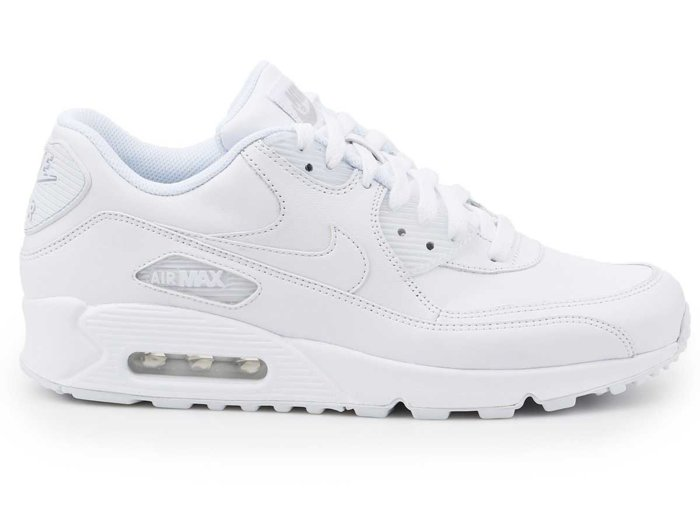 Buty lifestylowe Nike Air Max 90 Leather 302519-113