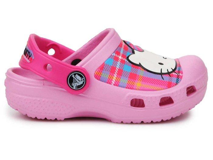 Crocs CC Hello Kitty Plaid Clog14621-616