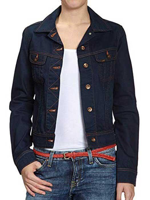 Kurtka jeansowa Lee Rider L541DDPU