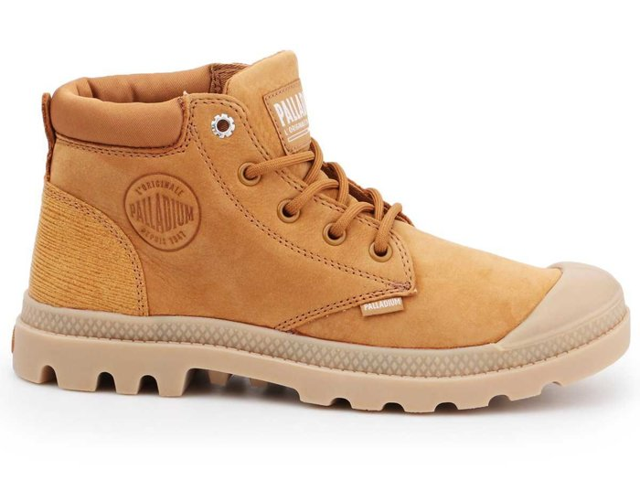 Palladium Pampa LO Cuff LEA 95561-717-M