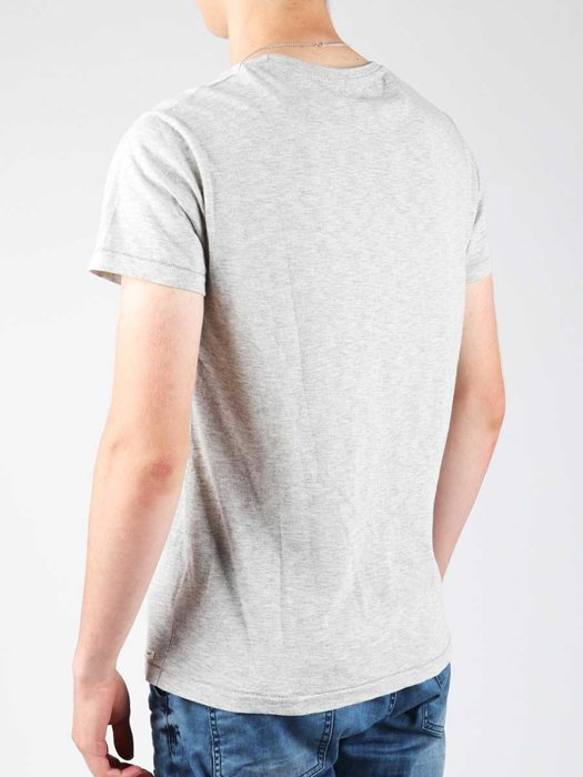 T-shirt Wrangler Light Grey Mel W7940IS03